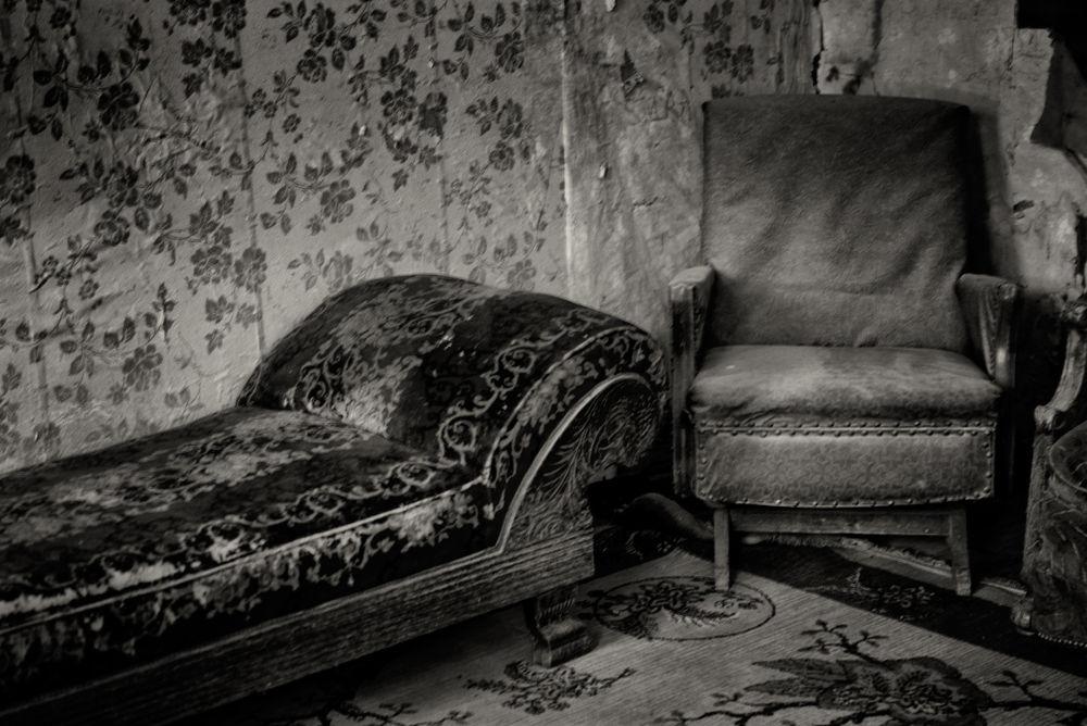 Hotel at Garnet Ghost Town, Garnet, Montana by Suzanne Kreitzberg