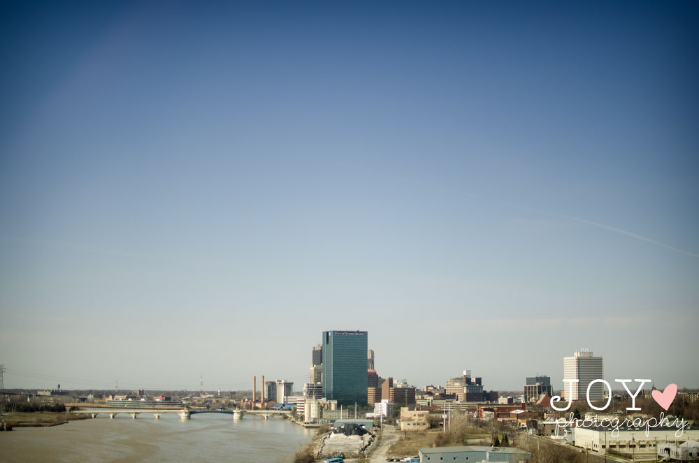 Downtown Toledo from a view by Joy Woods