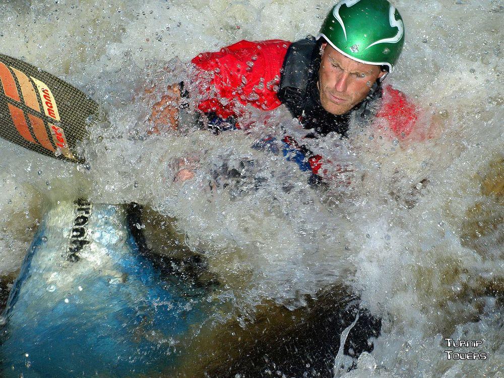 Kayaker by Turnip Towers