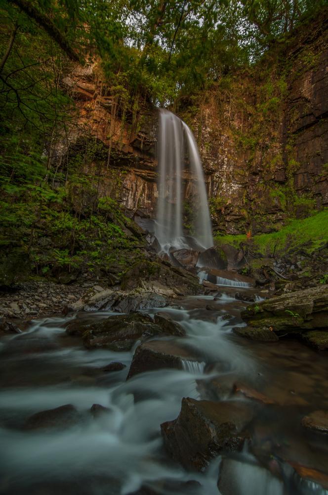 Jurassic Falls (Melincourt Waterfall) by Grant Hyatt