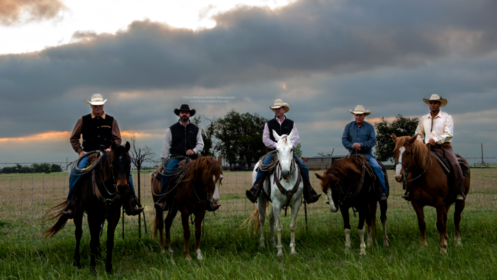 Cowboys - Cattle Ranch - Schwertner - Texas - www.RebeccaBphotos.com by Rebecca Belcher Photography