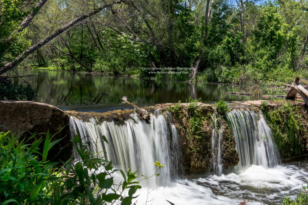 Waterfall - Austin - Texas - www.Rebeccabphotos.com by Rebecca Belcher Photography