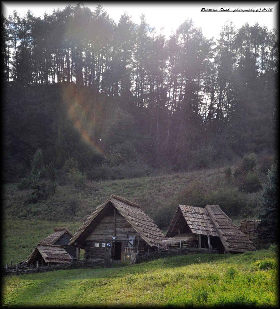 Kelt´s village - Havranok, Slovakia by rsphotography