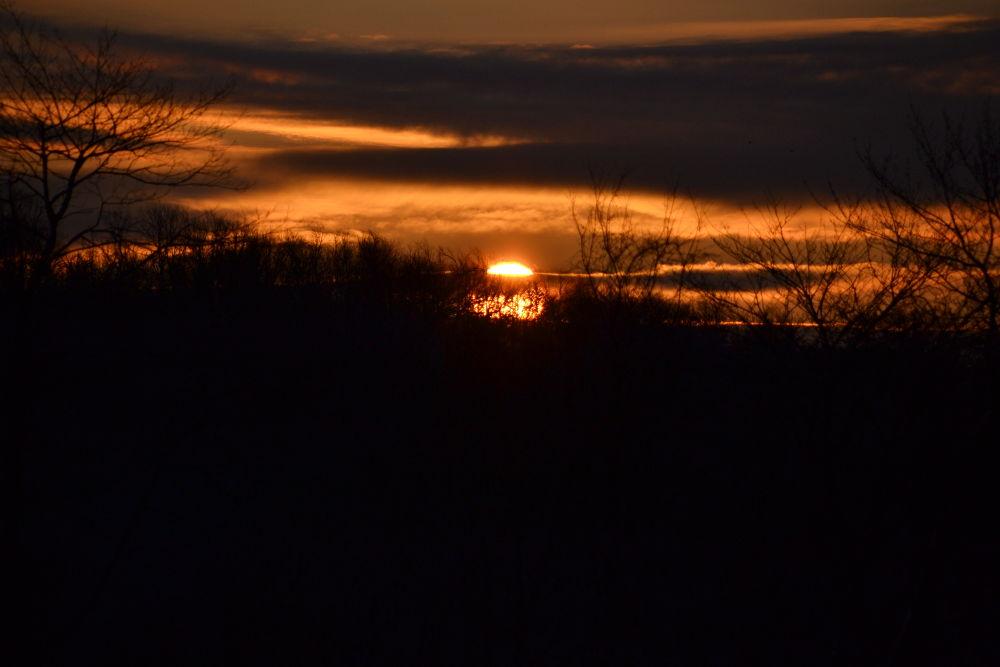 Bright Orange Sky by terrihorkan
