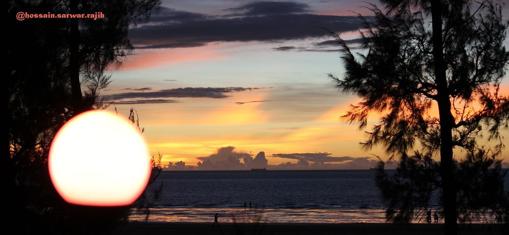 Colourful sunset..! by rajib5683