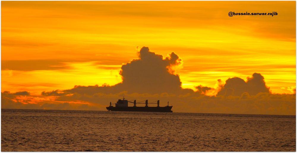Colourful sunset..!! by rajib5683