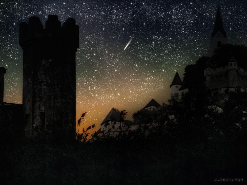 Night somewhere.......... by Maxime Baqradze