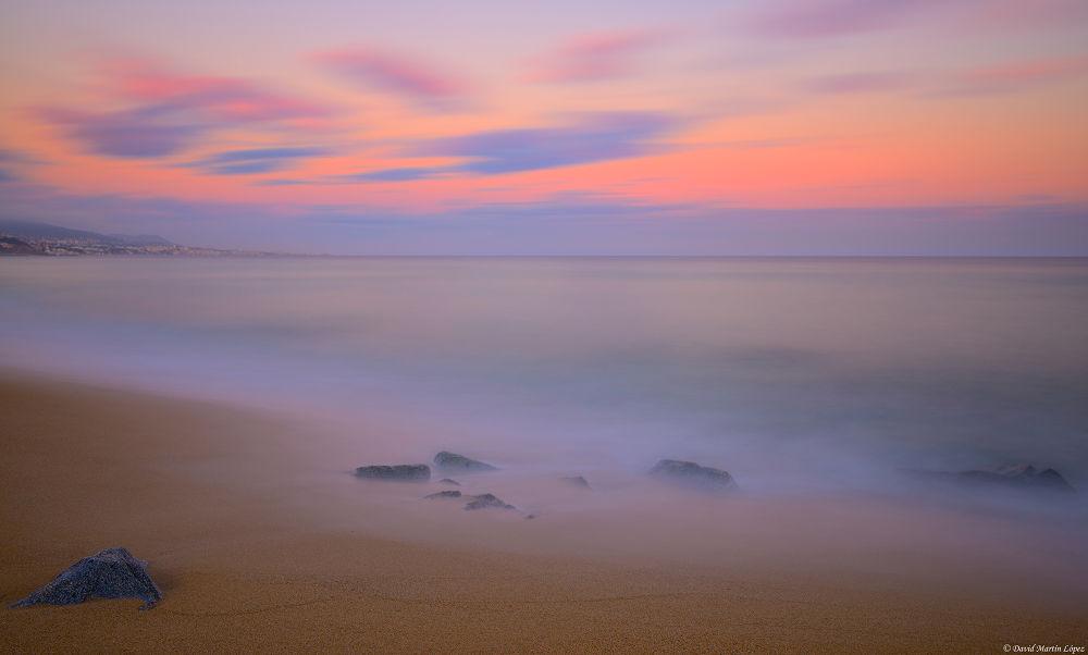 The tranquillity of dusk by davidmartinlopez