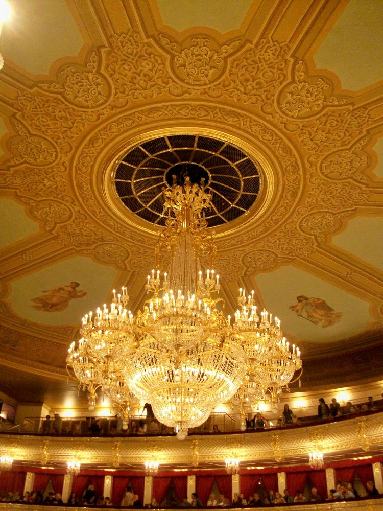 Bolshoi Theater; Moscow, Russia May 21, 2013  by NatalyaParris