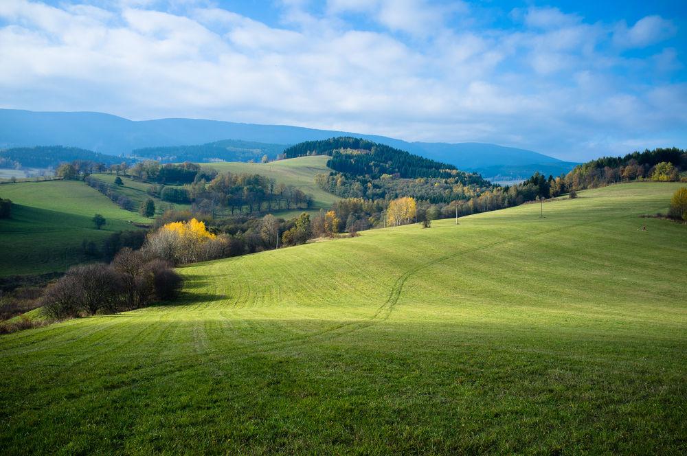 Moravian Landscape by Martin Mraz