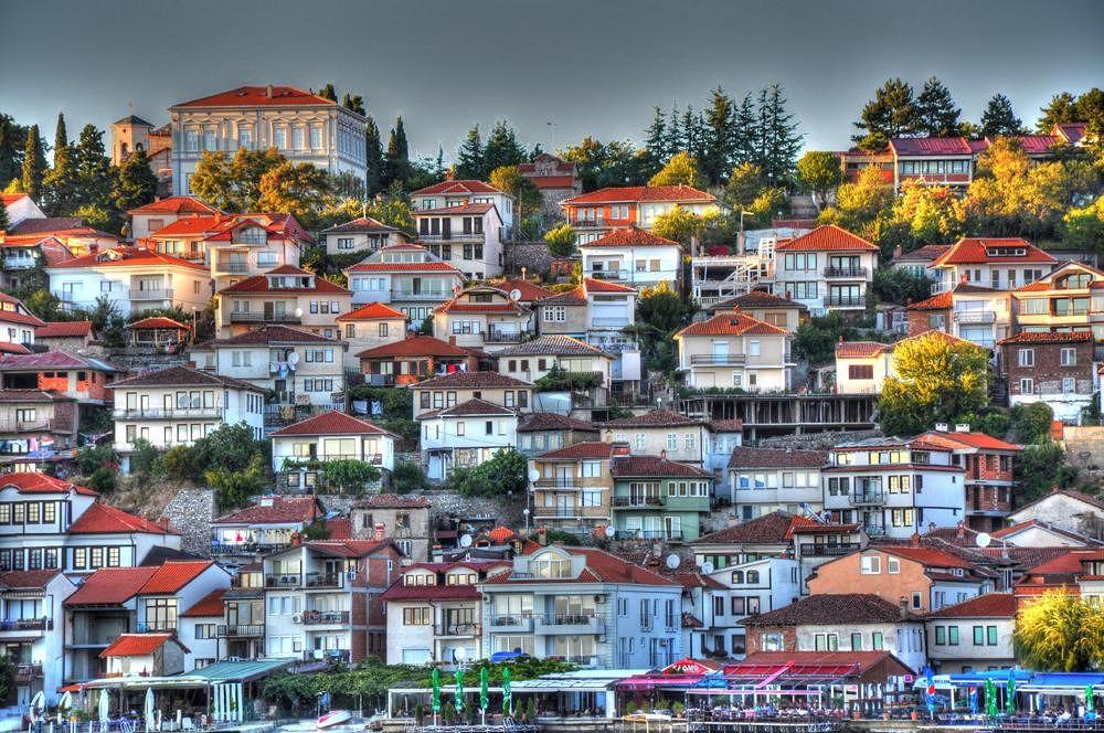 Sunset in Ohrid by fatmagokmen64
