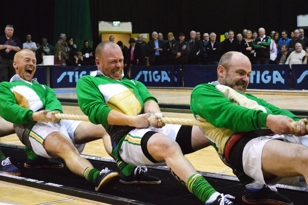 World indoor Tug-o-war Championships 2014 by John Arthur