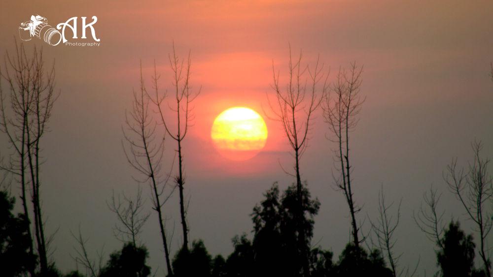 Sunset  by Aiman Khan