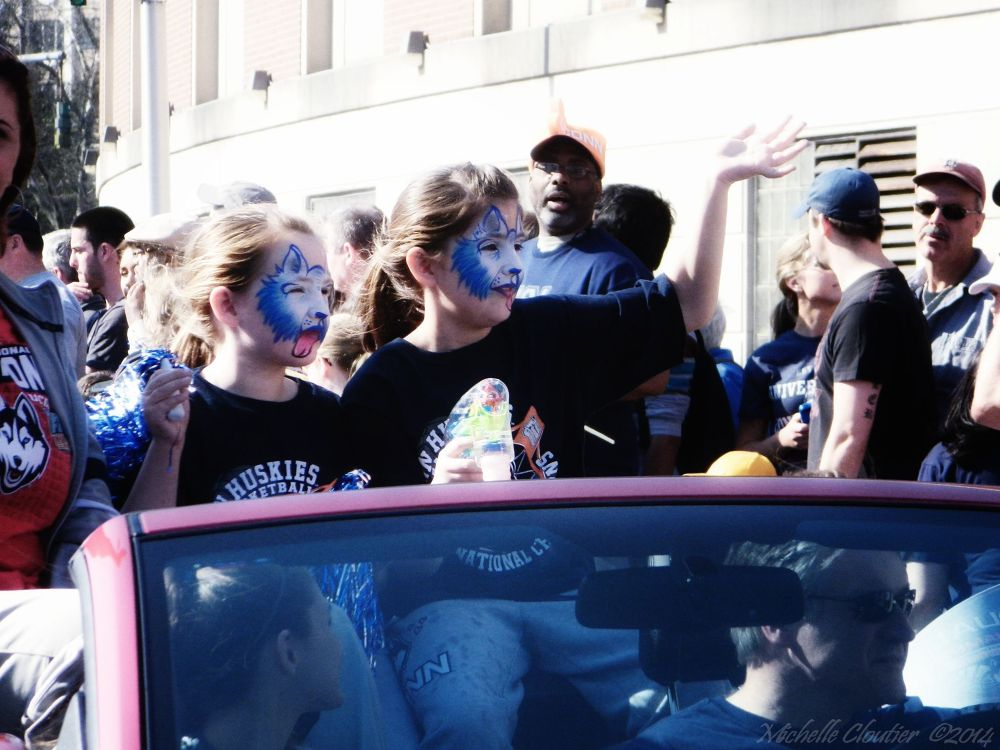 UCONN Parade by Michelle