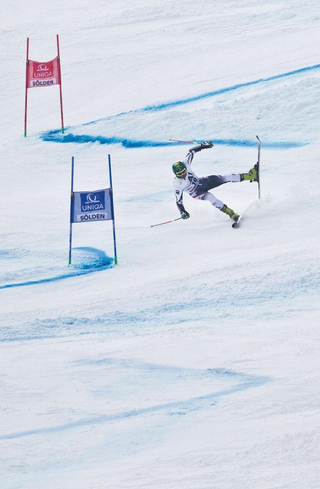 Marcel Hirscher - FIS World Cup Solden 2013 by bannekh