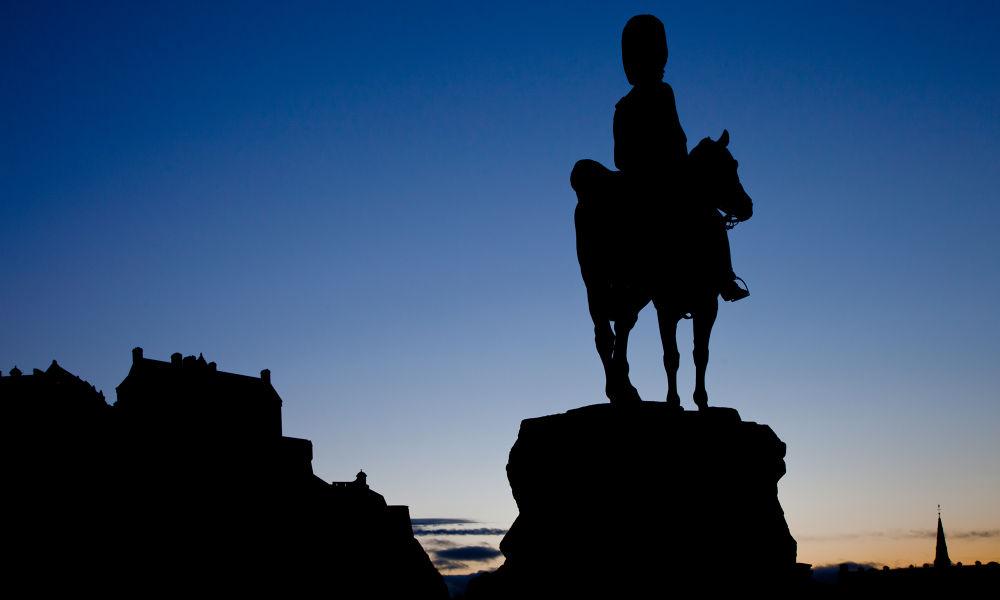 First Edinburgh Sunset 2014 by bannekh
