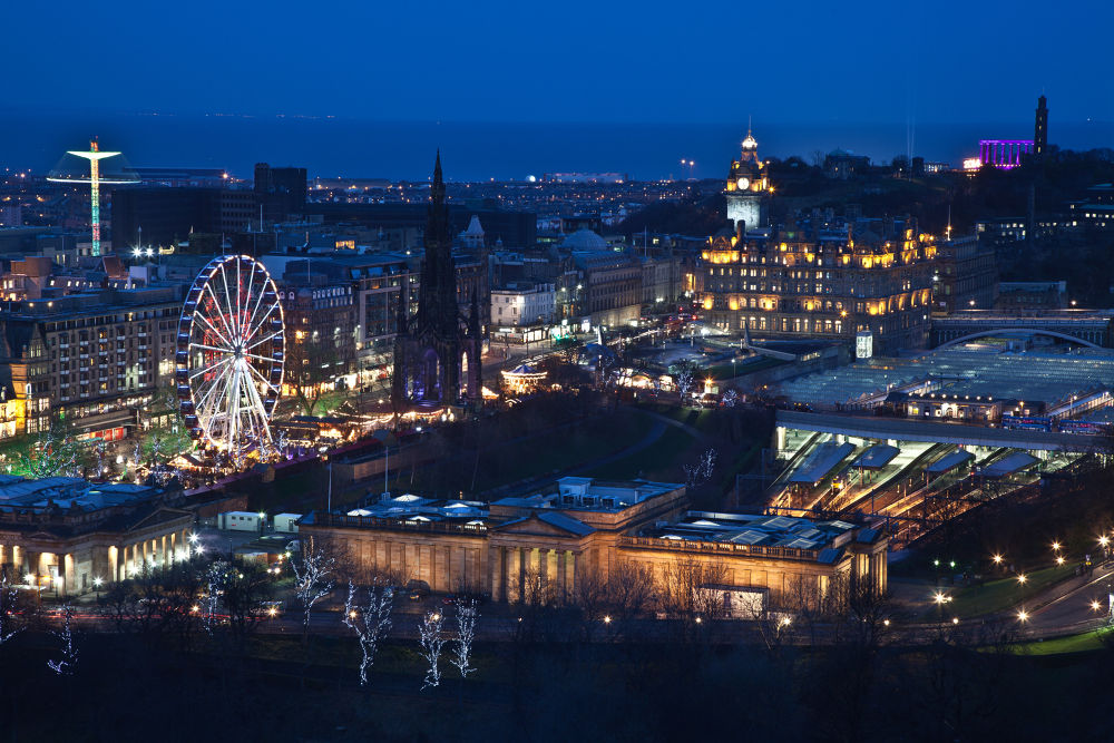 Edinburgh at Christmas #2 by bannekh