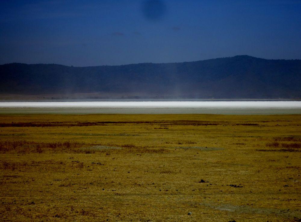 LAKE IN NGORONGORO CRATER by NEETA