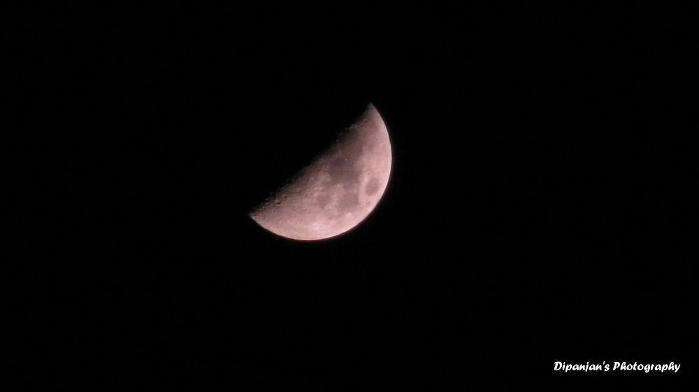 Moon.... by dipanjandas