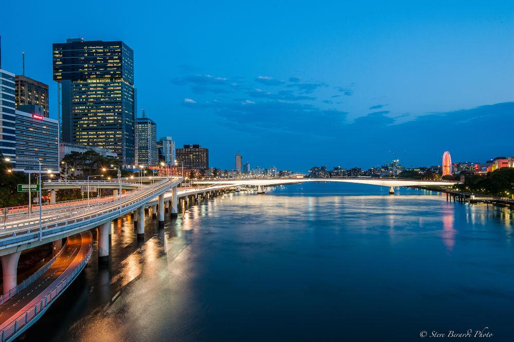 Brisbane City by steveo074