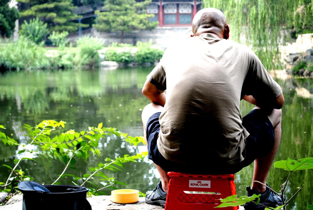 Chinese fisherman by PhotoDjo