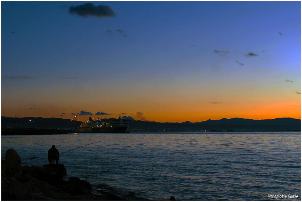 Patra's port by PanagiotisGazis