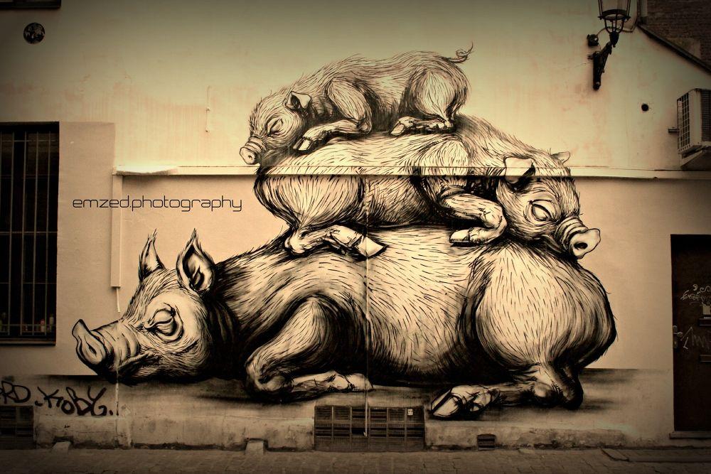 #Trois Petit Cochon. by Emzed