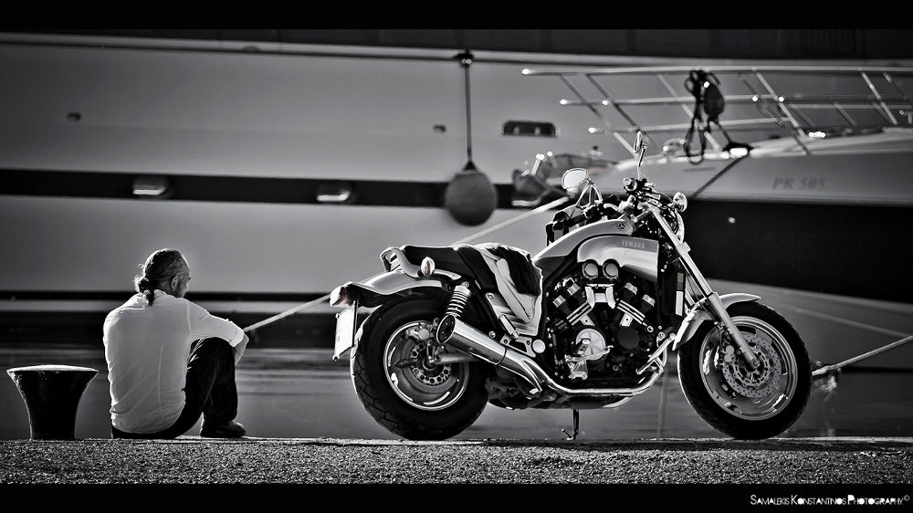 No matter what marque you ride, it's all the same wind.. by SamPhotography