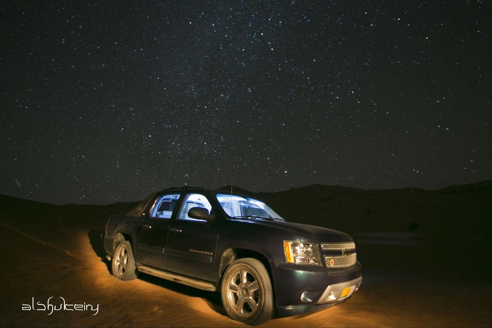 star watcher by Humoud Al-Shukeiry