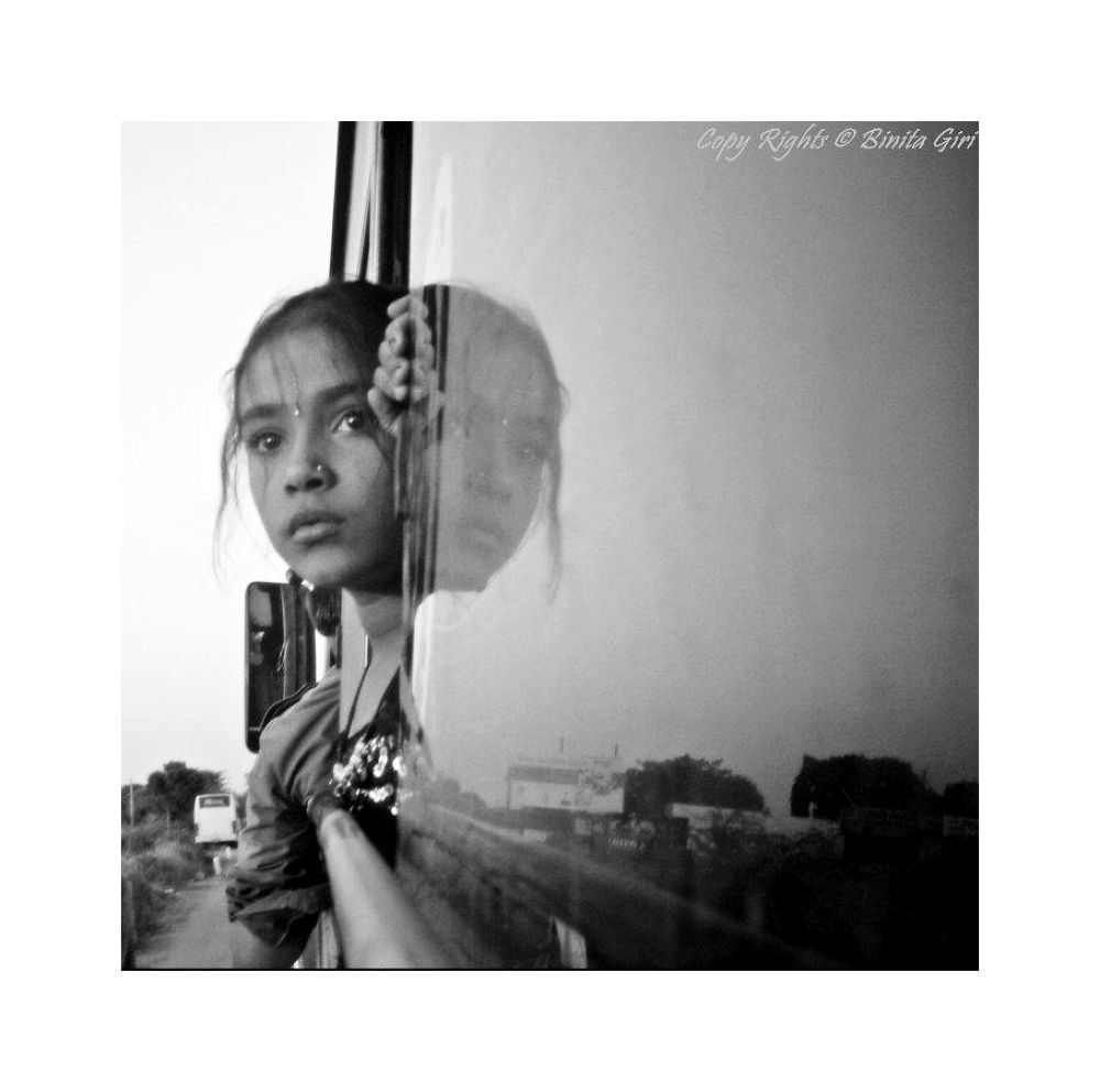 Reflection by binitagiri