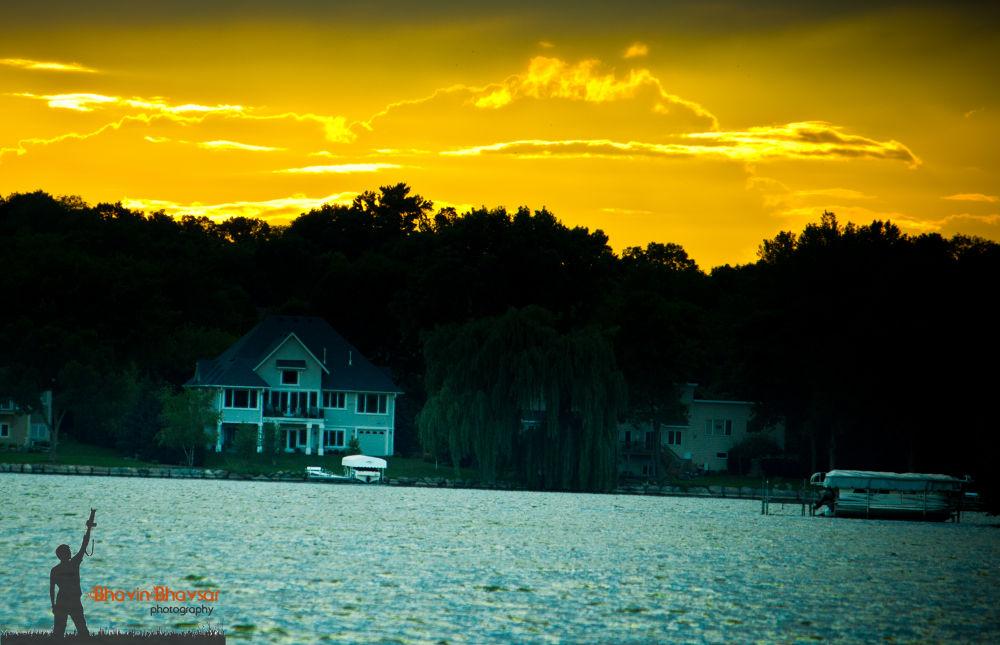 Riley Lake - Evening by Bhavin Bhavsar