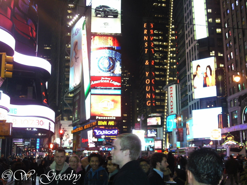 NY Time Square by Willie