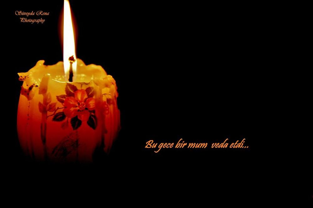 candle by Rena Mustafazade