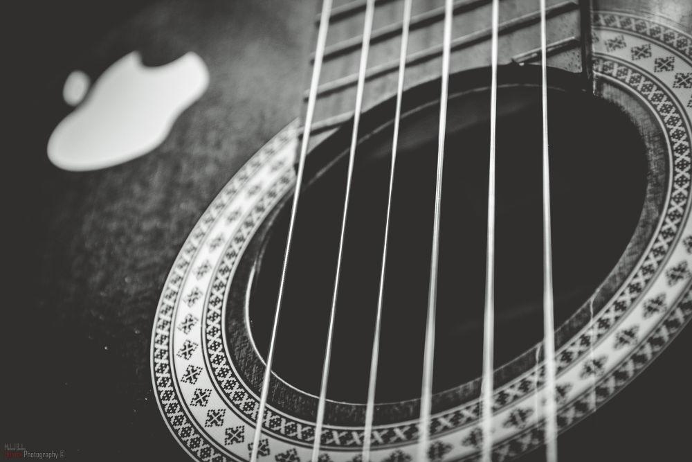 Apple Strings by Michael Elnatan