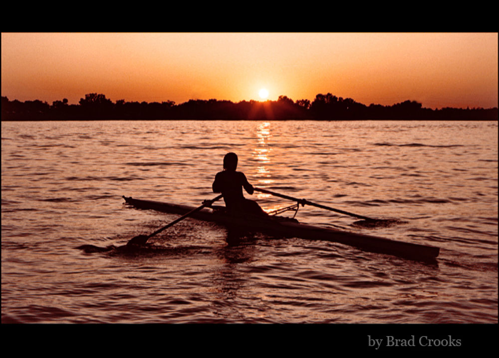 Sculler by Brad Crooks Photography
