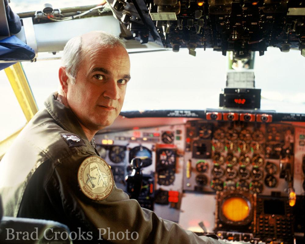Lt Col Sweeny - Desert Storm 1991 by Brad Crooks Photography
