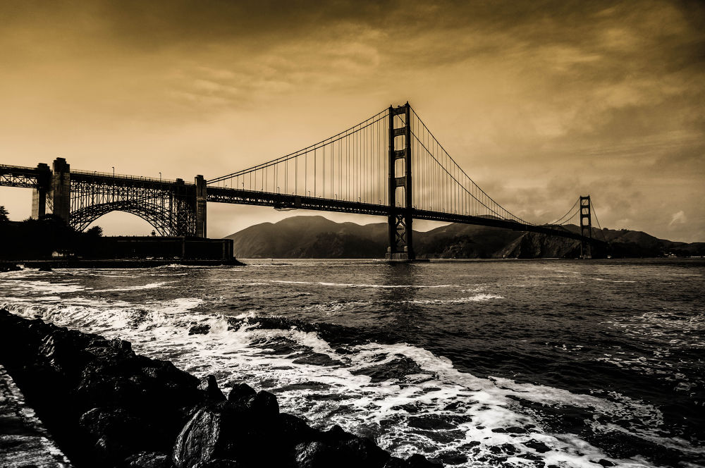 Golden Gate by Nate Eckler Photography