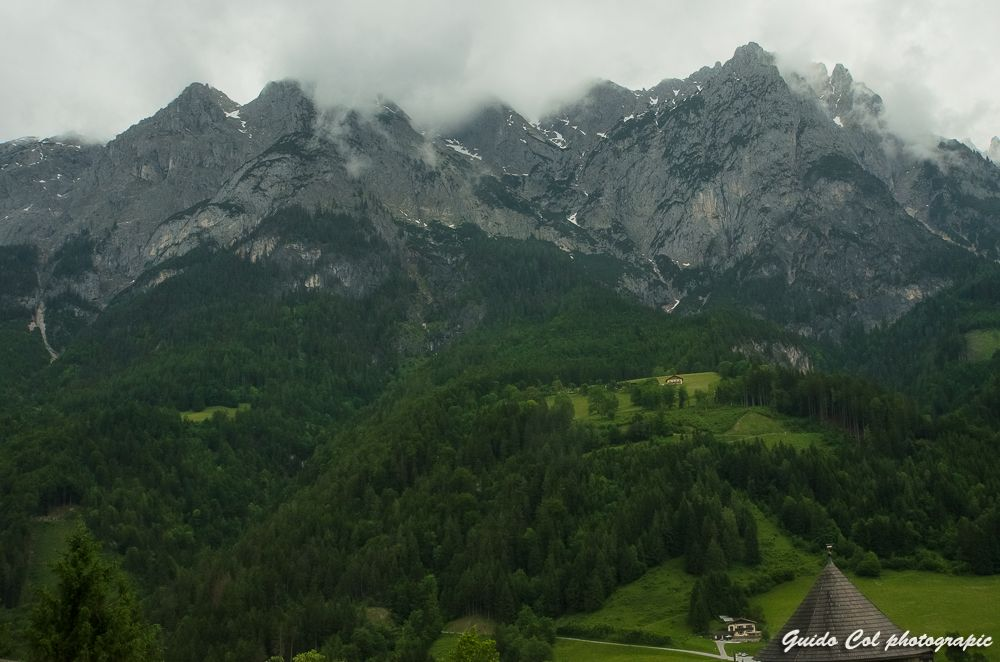 Osterich Alps by Col Guido