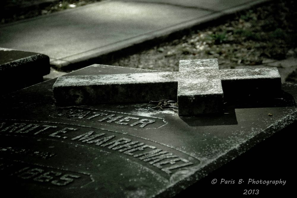 St. Michael ' s Cemetery by Paris B. Photography
