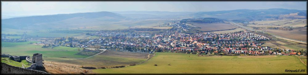 Spišska Kapitula_panorama by rsphotography