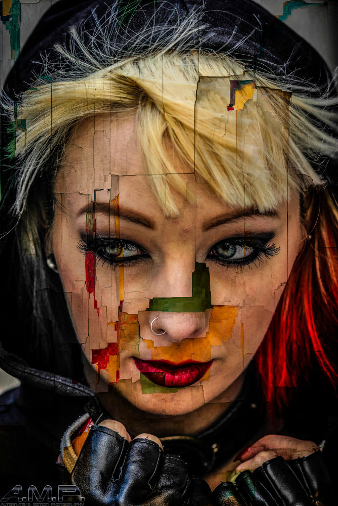 Harley Quinn ( jak starr) peeling of the layers to understand yourself  by aceashun