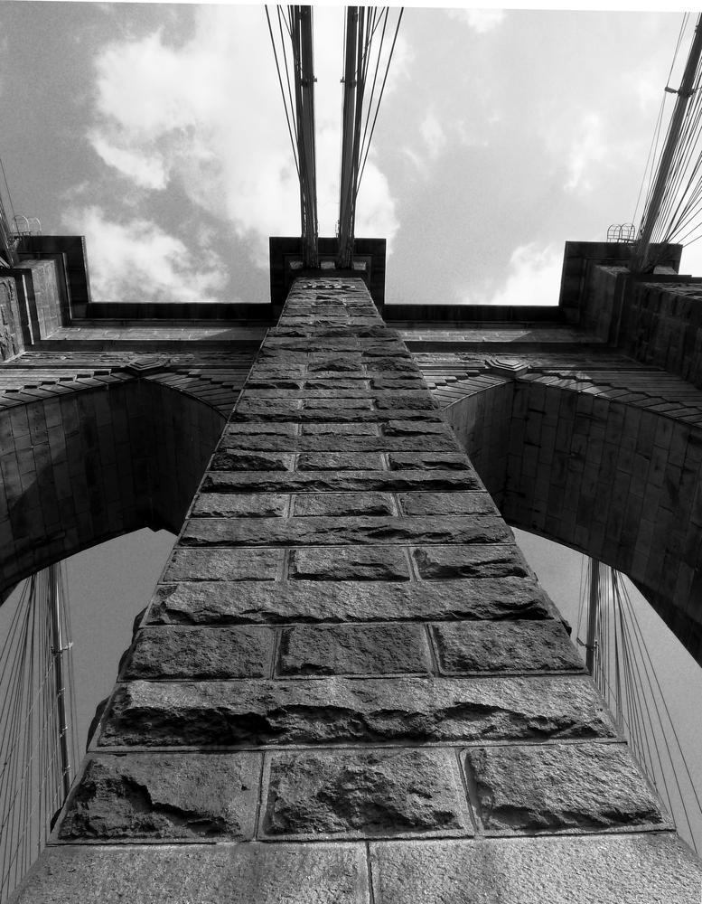 The Brooklyn Bridge. NYC by Anton Agalbato
