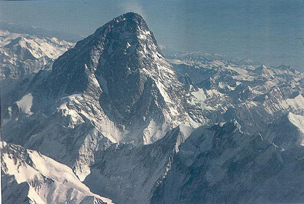 K2 From Air Safari by Naz