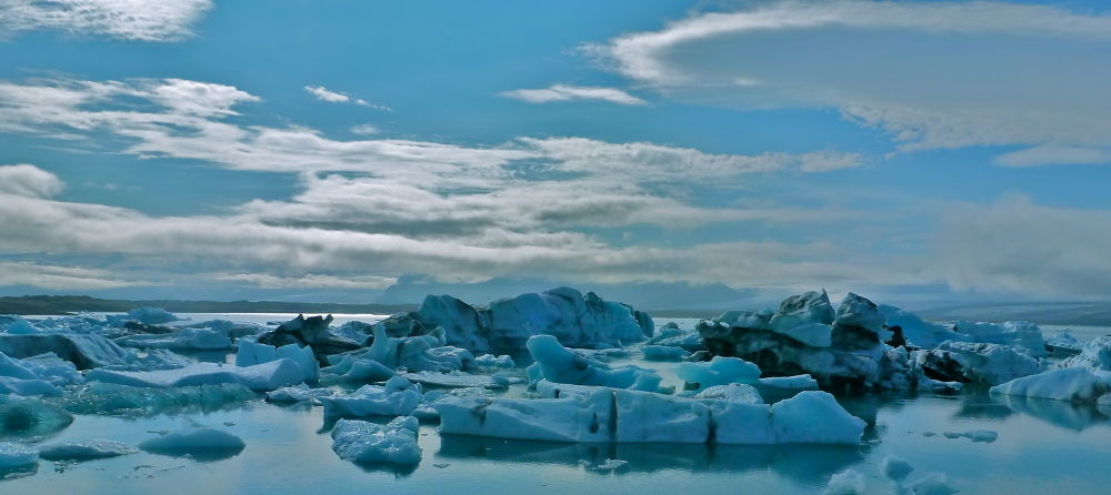 Jokulsarlon, Iceland by James Bray