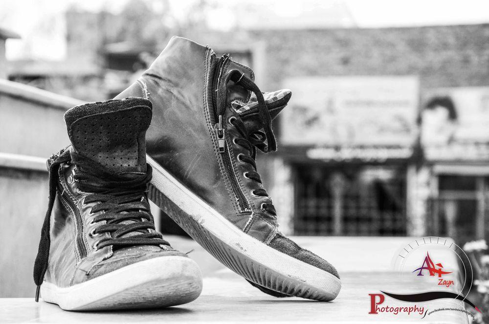 Shoes of FREEDOM! by Ali Zayn