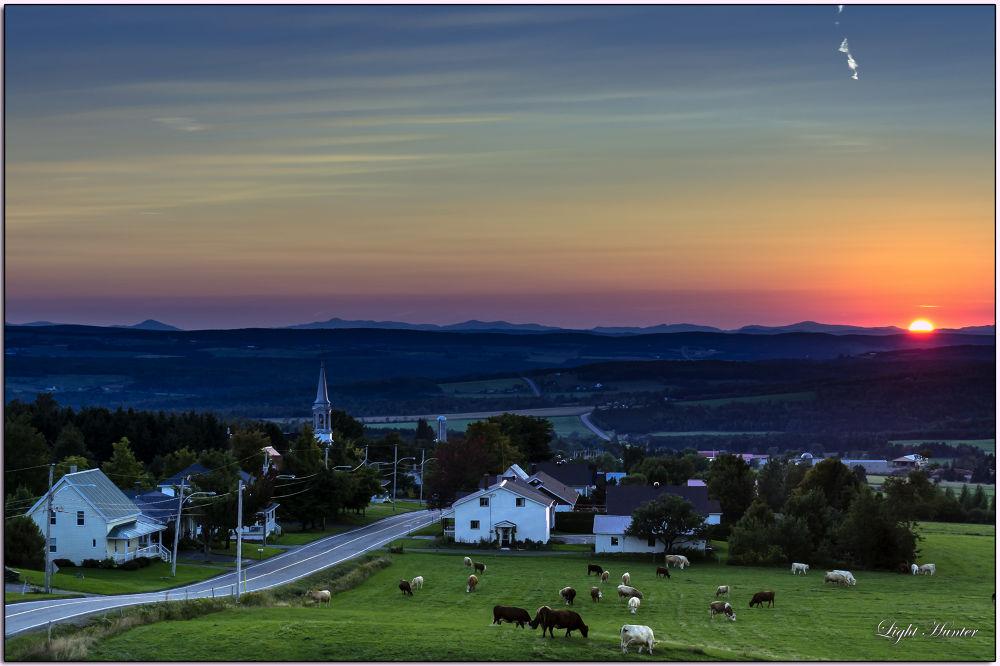 Sunset - Saint Malo  by Zoran Dujić - LightHunter