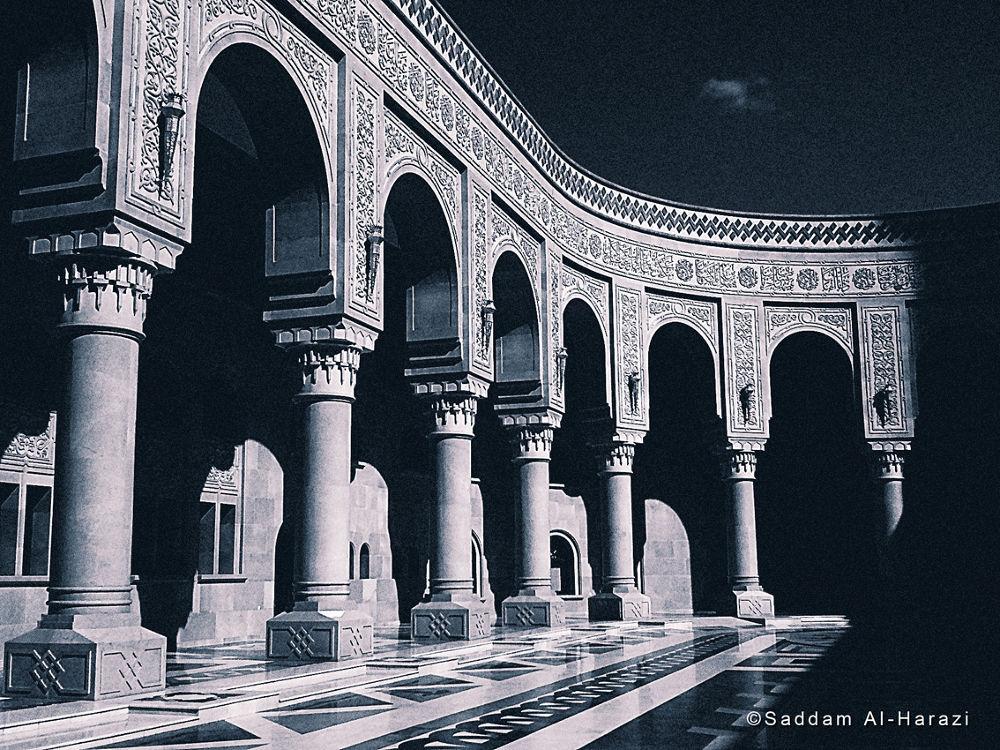 Alsaleh mosque by Saddam Al-Harazi