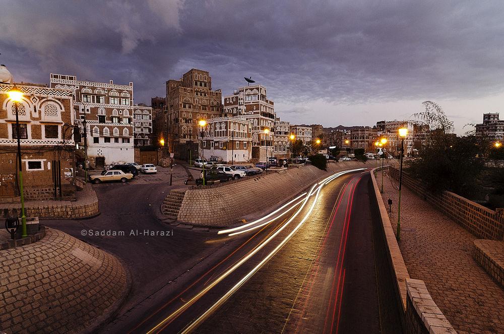 Old Sana'a City  by Saddam Al-Harazi