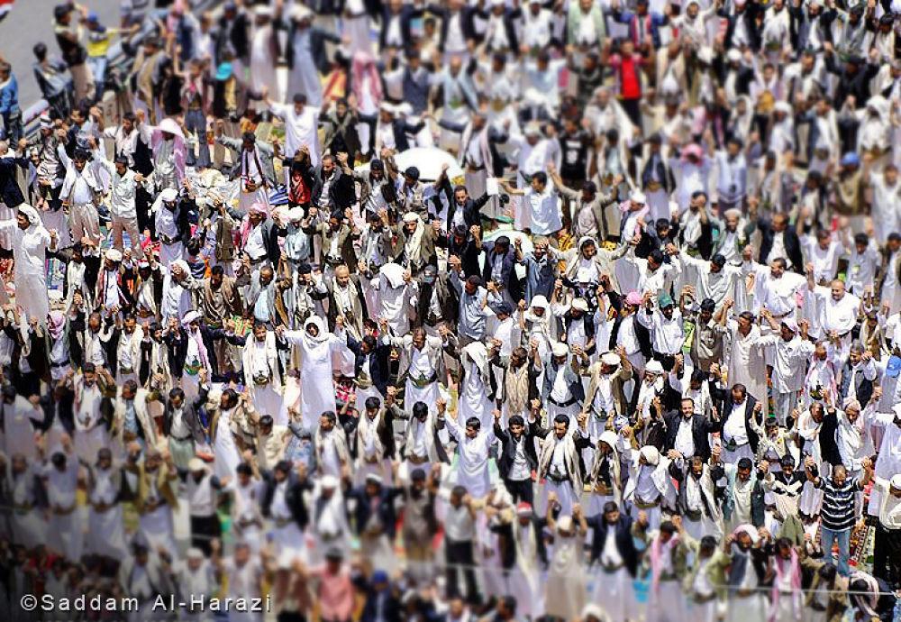 Yemen Revolution  by Saddam Al-Harazi