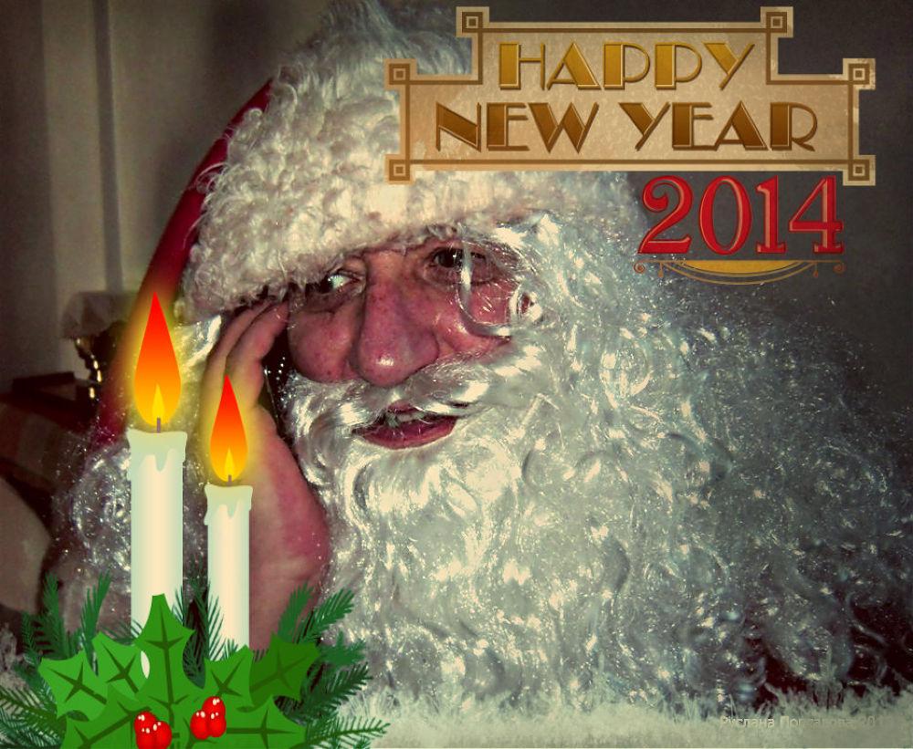 Happy New year  2014 by Popsavova